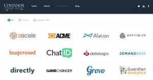 Costanoa Website Design