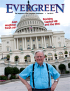 Cover of Fall 2012 Issue of Evergreen Magazine