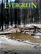 Cover of July 2003 Issue of Evergreen Magazine
