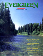 Cover of September 1996 Issue of Evergreen Magazine
