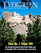 Cover of September 1999 Issue of Evergreen Magazine