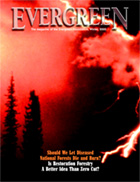 Cover of Winter 2000 Issue of Evergreen Magazine