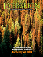 Cover of Winter 2006 Issue of Evergreen Magazine