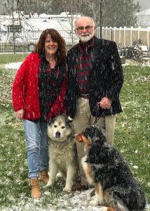 Jim and Julia Petersen - Christmas 2017
