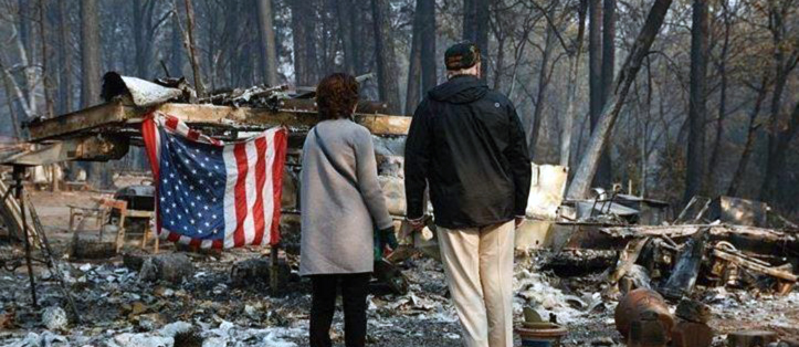 Michael Rains post Camp Fire letter to Trump