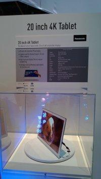 CES 4K tablet