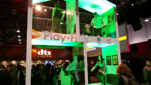 CES 2013 DTS display