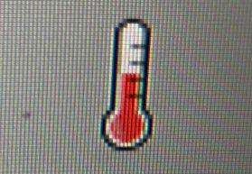 Pi thermometer icon