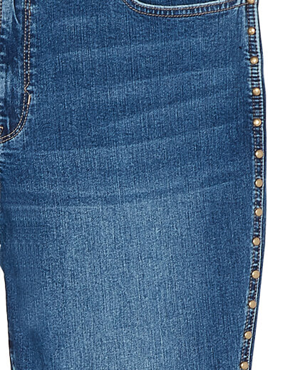 studs on plus size jeans