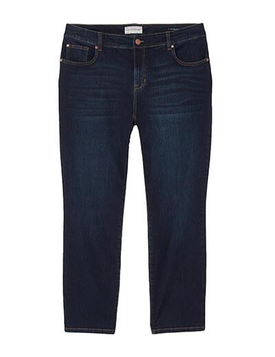 plus size straight leg jeans