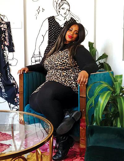 lauren brake thanksgiving leopard print dress