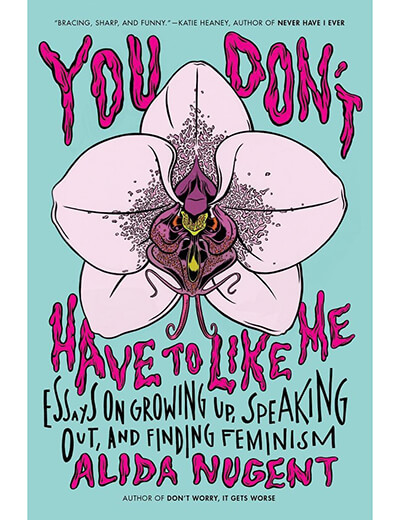 body-positive books you don't have to like me alida nugent