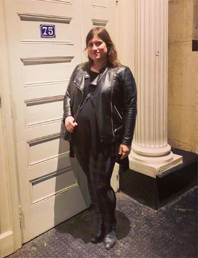 lisa plus-size power outfits leather jacket leather leggings