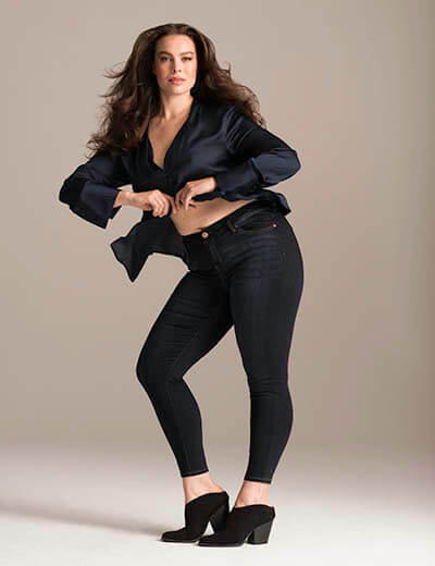 plus-size denim we are all icons brooke shields