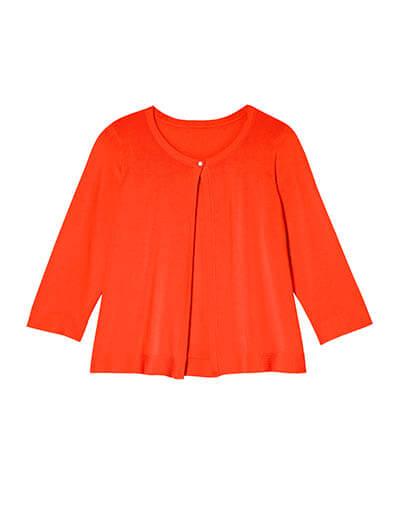 plus size red cardigan spring