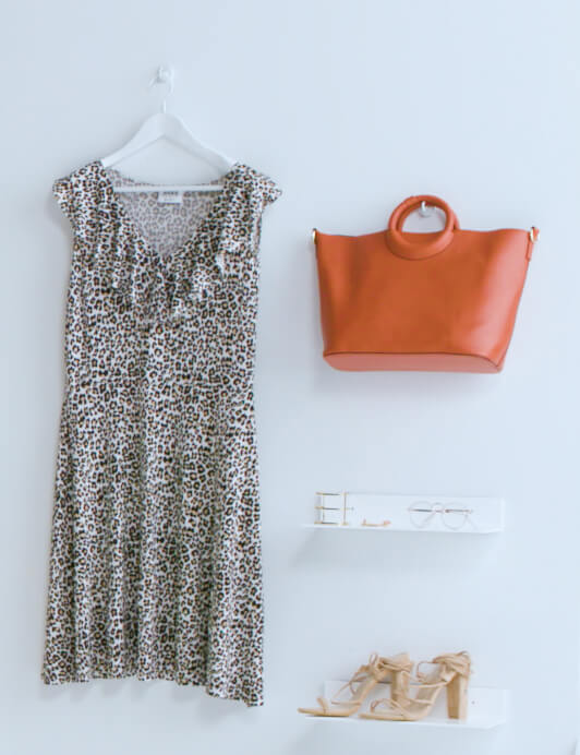 plus-size leopard-print dress spring essentials