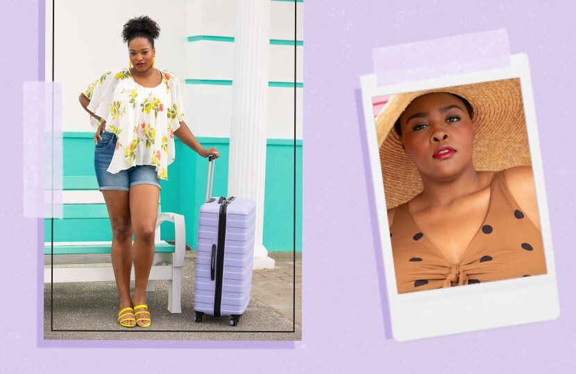 what to pack for vacation two models plus size travel clothes