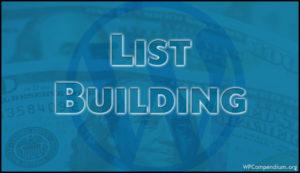 List Building