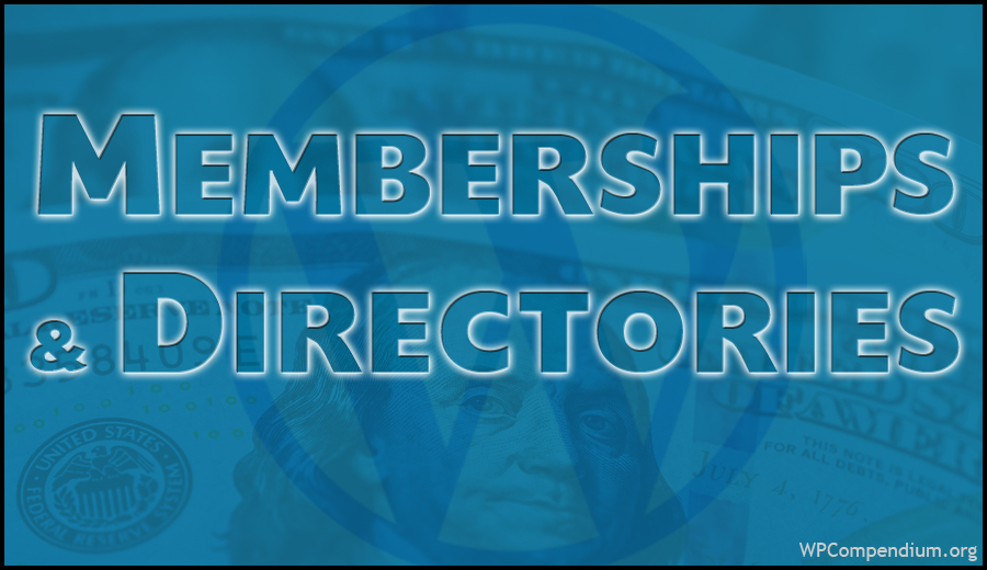 Memberships & Directories
