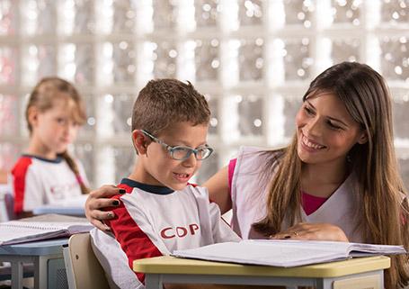 Sala especial para o 1º ano do Ensino Fundamental I