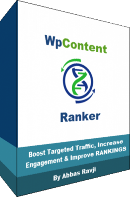 WP Content Ranker - Drag & Drop to Page 1 of Google