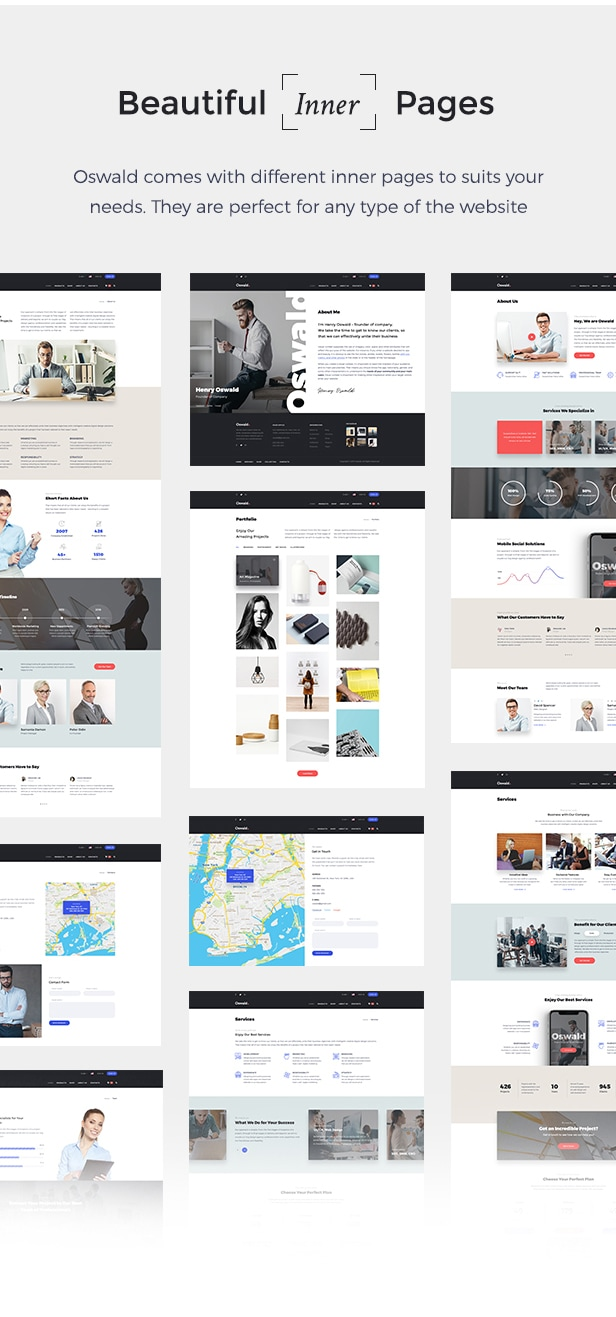 Oswald - Creative Multi-Purpose Responsive WordPress Theme - 6