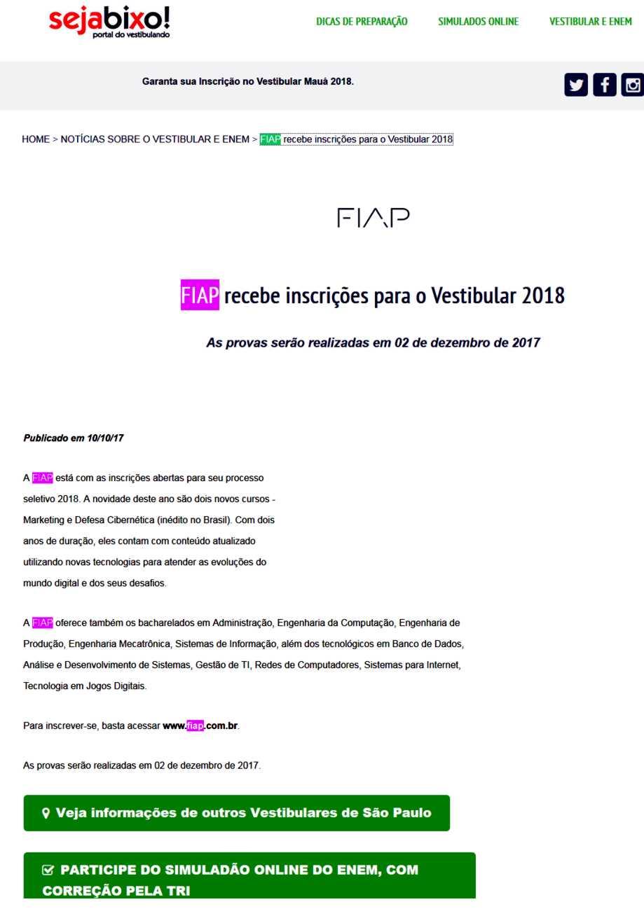 1010- Site Seja Bixo!