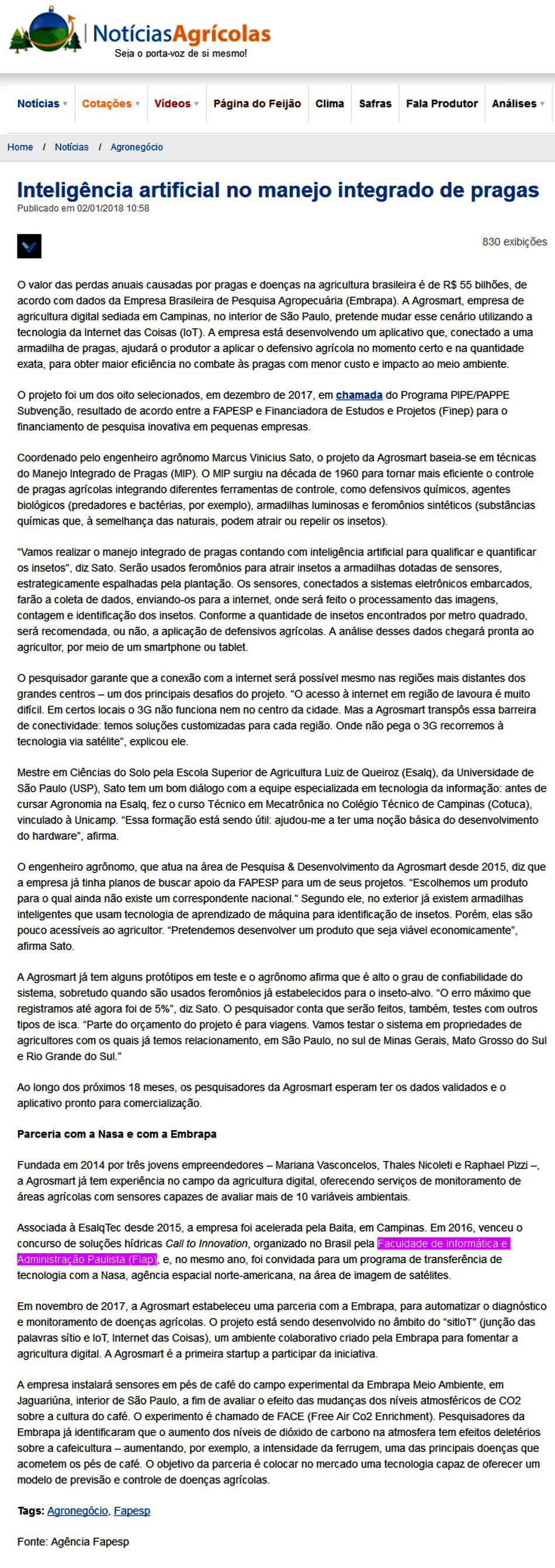 0102- Portal Notícias Agrícolas