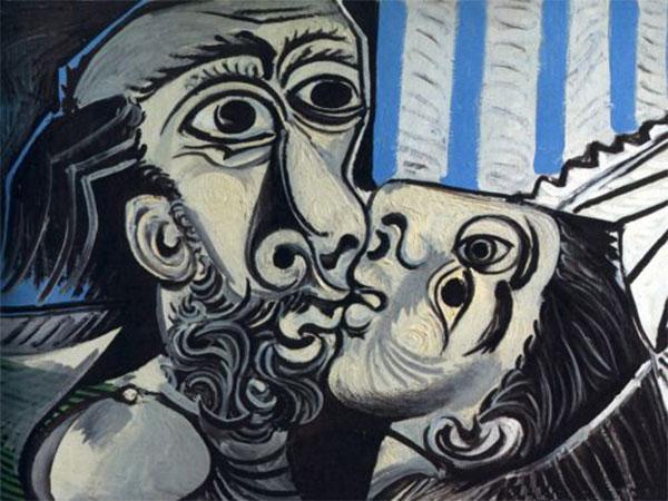 El beso, Pablo Picasso
