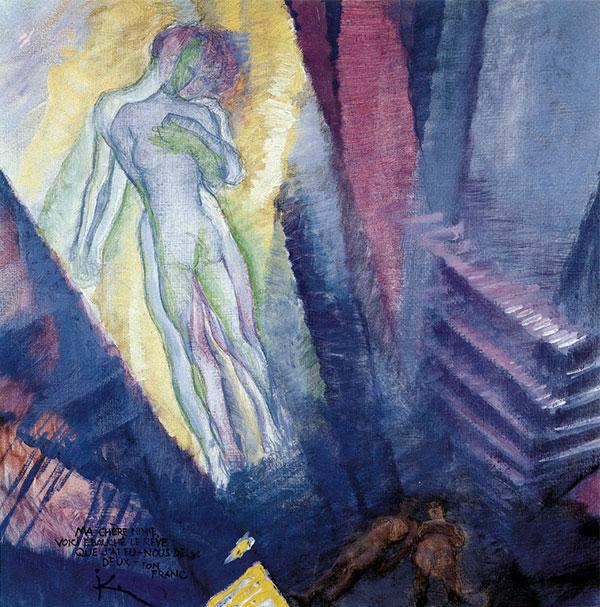 The dream,Frantisek Kupka
