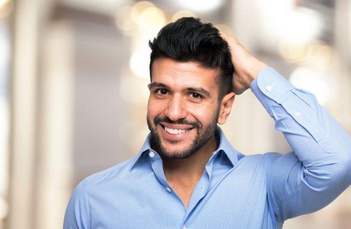 cabello masculino