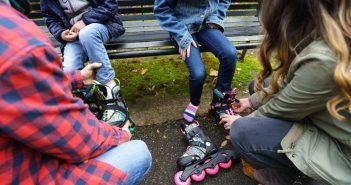 Patinaje: diversión y aprendizaje para padres e hijos