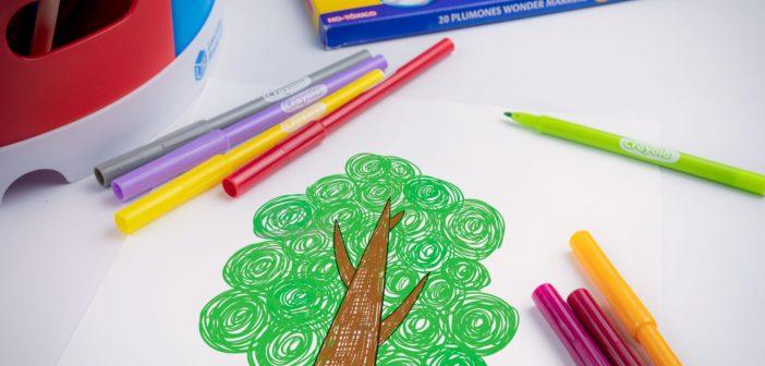 Wonder Markers: lo más nuevo de Crayola