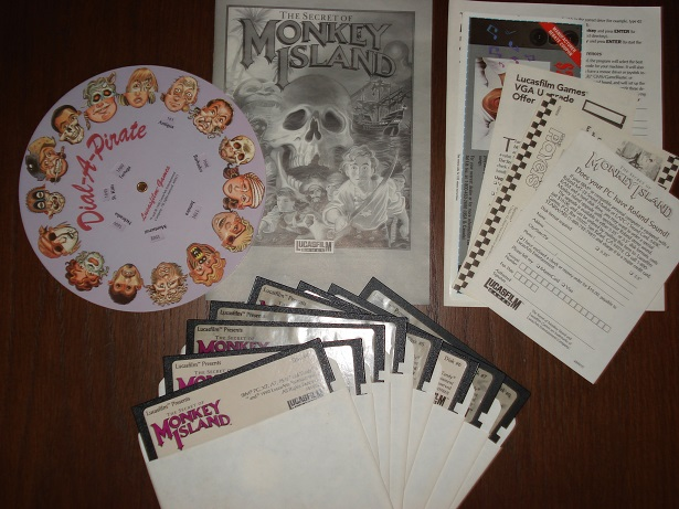 Contenido del juego The Secret Of Monkey Island