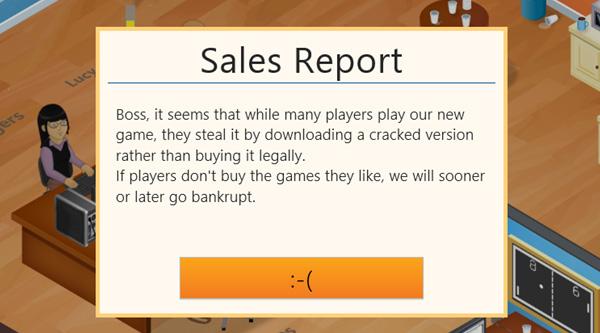 Game Dev Tycoon en Bancarrota