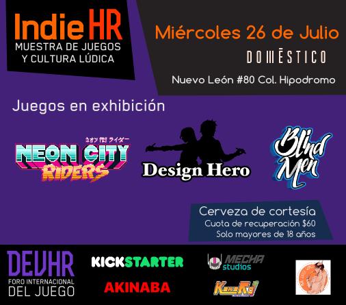 Cartel IndieHR 2017