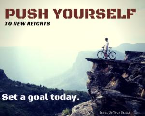 Set A Goal Today