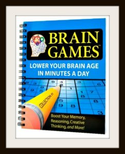 Brain Games #1 – The Popular Critical Thinking Game Boosts Gray Matter