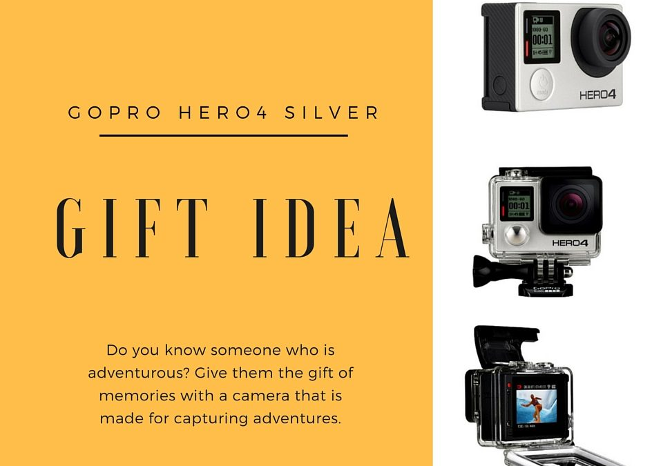 GoPro HERO4 Silver Is the Perfect Gift for the Adventurous