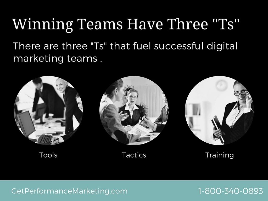 """There Are Three """"Ts"""" That Fuel Winning Teams"""