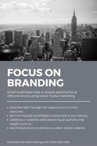 Focus on Branding