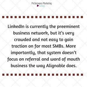 Join Alignable for Referrals and Word of Mouth