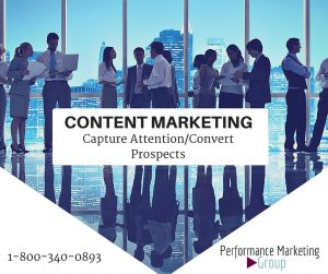 Content Marketing Is a Great Way to Capture Attention