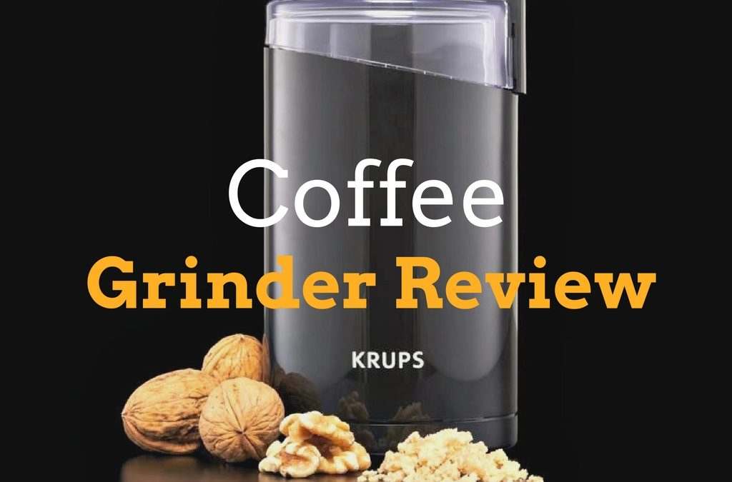 Krups F203 Electric Coffee And Spice Grinder With Stainless-Steel Blades Review