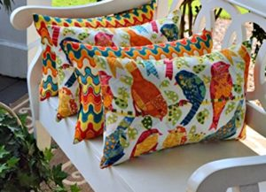 Pillows Add Quite a Bit of Flavor to Outdoor Spaces