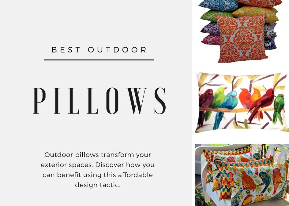 How Outdoor Pillows Transform Your Environment