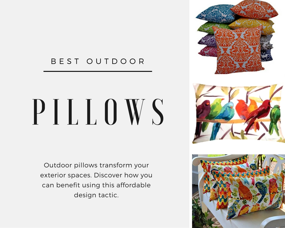 The Best Outdoor Pillows Are Worth Finding