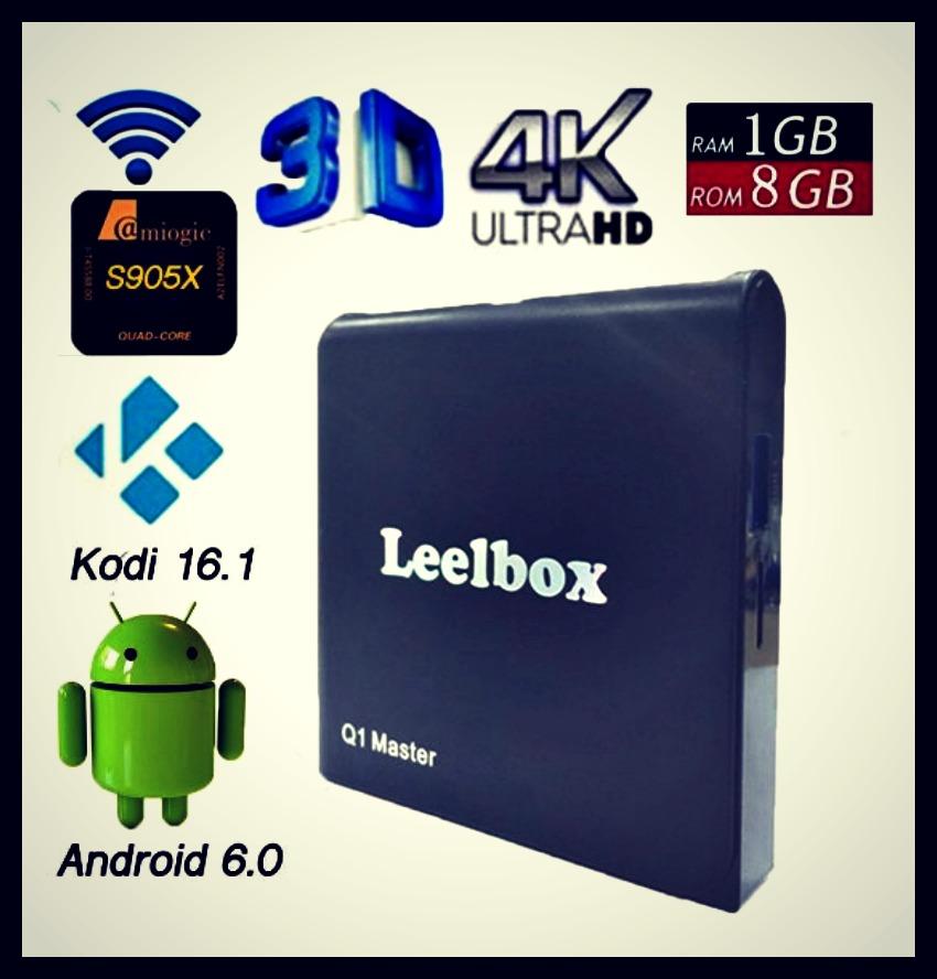 Leelbox Q1 Master Android TV Box
