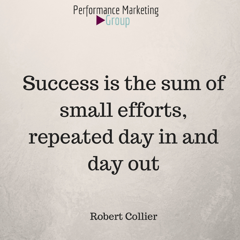 Do the Right Things Daily and You'll Succeed