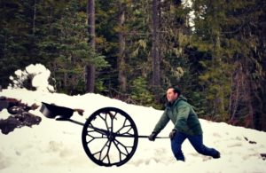 The Snow Wolf Shovel Helps Humans Battle Nature